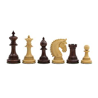 The Lemington Rosewood Chessmen 4.25 inch