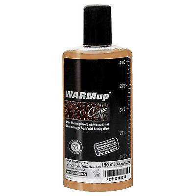 Massageolja WARMUP kaffe 150ml