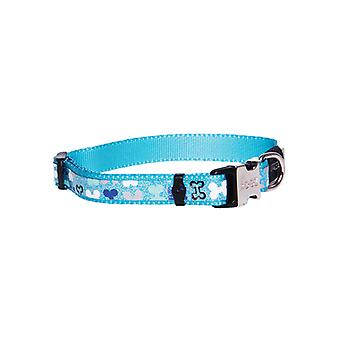 Rogz Lapz Trendy Collar Blue
