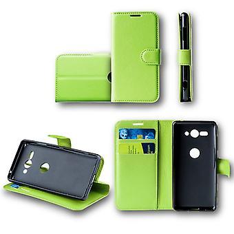 Für Huawei Mate 20 Lite Tasche Wallet Premium Grün Schutz Hülle Case Cover Etui Neu Zubehör
