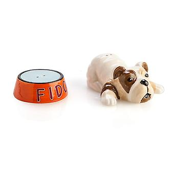 الكلب آند الملح وعاء & مجموعة الفلفل