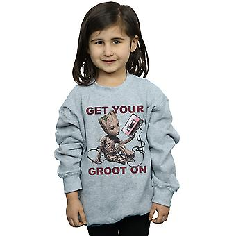 Marvel Girls Guardians Of The Galaxy Get Your Groot On Sweatshirt