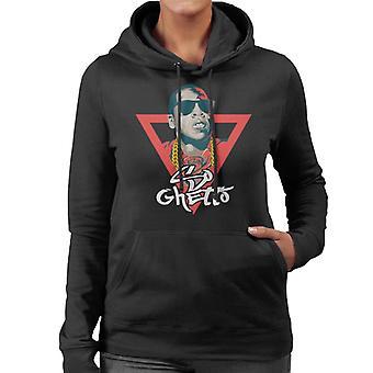 Jay Z dus Ghetto lied titel vrouwen Hooded Sweatshirt