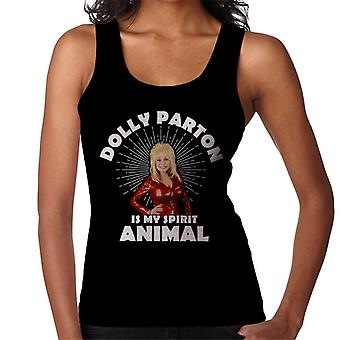 Dolly Parton Is My Spirit Animal Women's Vest