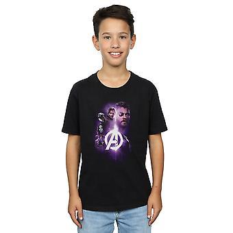 Marvel gutter Avengers uendelig krig Thor voktere teamet opp t-skjorte