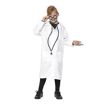 医師/科学者衣装、ユニセックス、少年の空想のドレス、小さな年齢 4-6