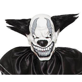 Skræmmende onde klovn maske