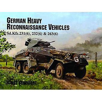 Vehículos de reconocimiento pesada alemana por Horst Scheibert - 97808874052