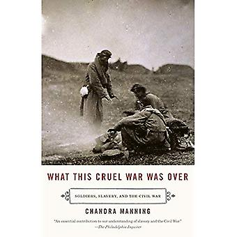 What This Cruel War Was Over: Soldiers, Slavery, and the Civil War (Vintage Civil War Library)