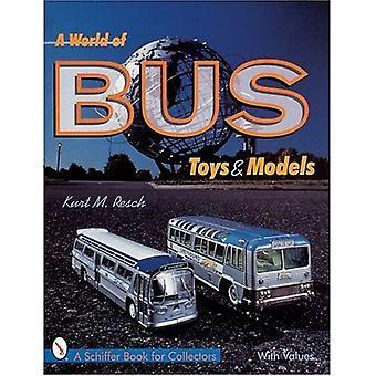 Eine Welt voller Bus Spielzeug und Modelle