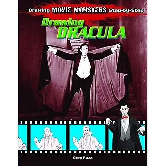Drawing Dracula (Drawing Movie Monsters Step-By-Step)