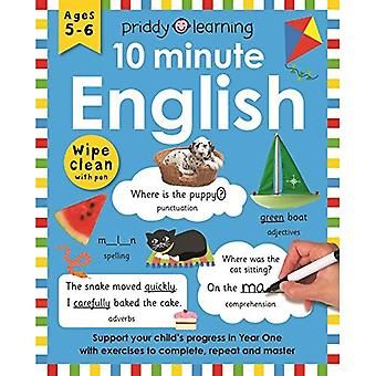 10 Minute English (Wipe Clean Workbooks)