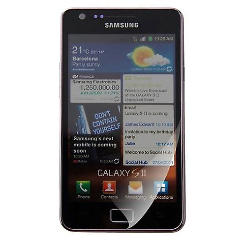 8 x Proteggi schermo Samsung I9100 Galaxy S II Screen Protector Crystal Clear 2 Film invisibile Galaxy S2 SII protettore