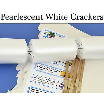 Pearlescent White Make & Fill Your Own Cracker Making Craft Kits & Boards