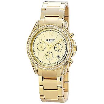 Just Watches 48-S11004-GD-wristwatch, stainless steel, color: Gold