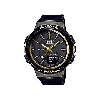 Casio Analog-Digital Quarz Damen mit Harz band BGS-100GS-1AER