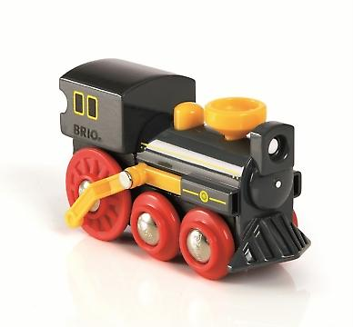 BRIO Push-along Old Steam Engine 33617