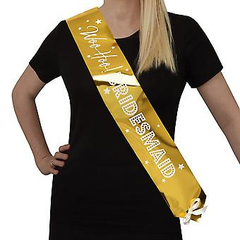 Woo Hoo Hen Do - Bridesmaid Sash - 2 Pack