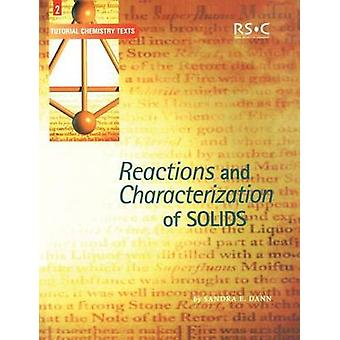 Reactions and Characterization of Solids by Abel & E W