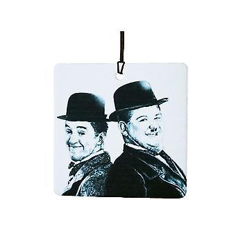 Laurel And Hardy Car Air Freshener