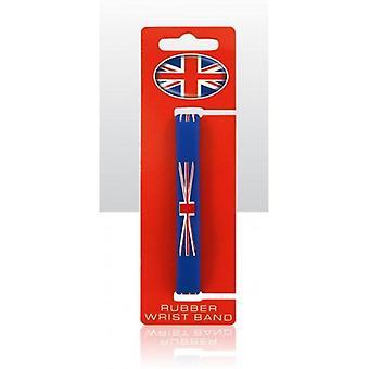 Union Jack tragen Union Jack Silikon Armband