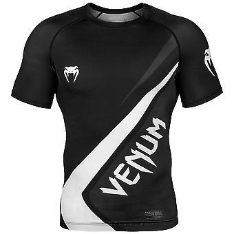 Venum Anwärter 4.0 Kurzarm Rash Guard schwarz/grau/weiss