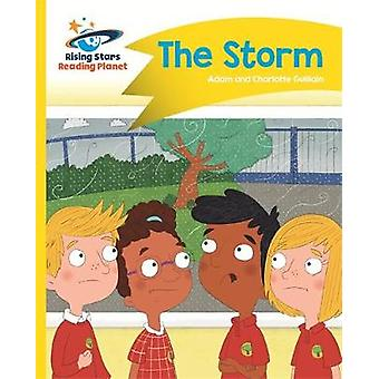 Reading Planet - The Storm - Yellow - Comet Street Kids by Adam Guilla