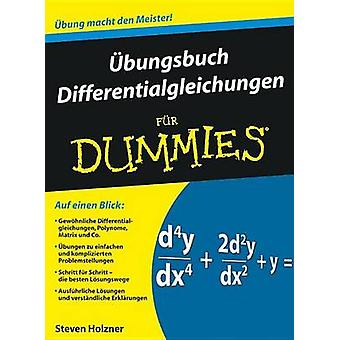 Ubungsbuch Differentialgleichungen Fur Dummies by Steven Holzner - Ju