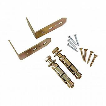 BrackenStyle Hard Ground Anchor Fixing Kit