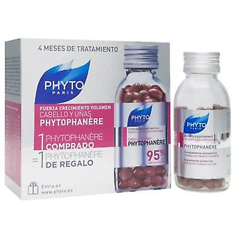 Phyto Phytophanère Cheveux et Ongles Duplo 2x120 Capsules