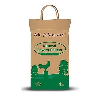 Herr Johnsons Natural Layers Pellets Geflügelfutter