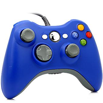 Wired controller for Windows and Xbox 360-Blue