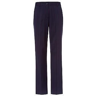 Olsen Blue Navy Trouser 14001695