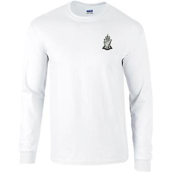 Royal Ulster Rifle RUR - Camiseta de manga larga bordada con licencia del Ejército Británico