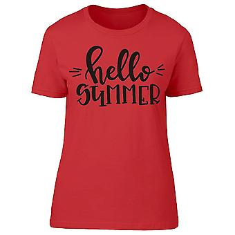 Welcome Smiley Summer Tee Women's -Image by Shutterstock