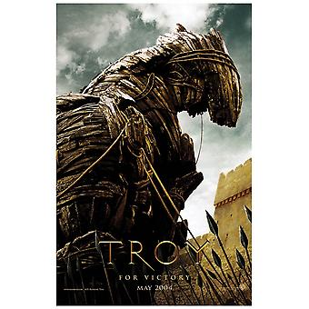 Troy (einseitig Vorlaufpferd) (Uv coated/High Gloss) Original Kino Poster