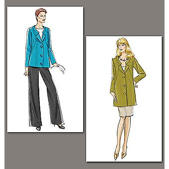Misses' Jacket, Skirt And Pants  B5 8  10  12  14  16 Pattern V8464  B50