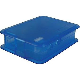 Raspberry Pi® enclosure Blue (transparent) TEK-BERRY.33 Raspberry Pi®