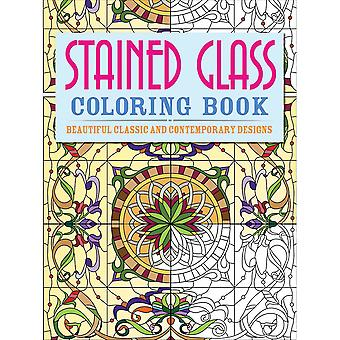 Chartwell Bücher-Stained Glass Färbung CW-31235