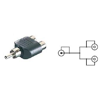 Vivanco Adapter and RCA male to female 2rca March 36