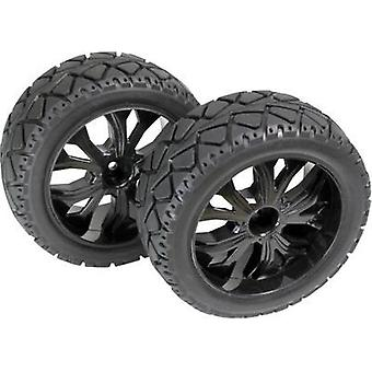 Absima 1:10 Buggy Wheels Tarmac forward 5-spoke