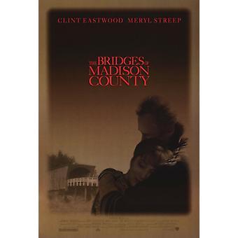 O pontes de Madison County filme Poster Print (27 x 40)