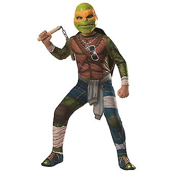 Michelangelo Teenage Mutant Ninja Turtle superhelte drenge kostume
