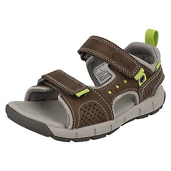 Infant/Junior Boys Clarks Casual Summer Sandals Jolly Wild