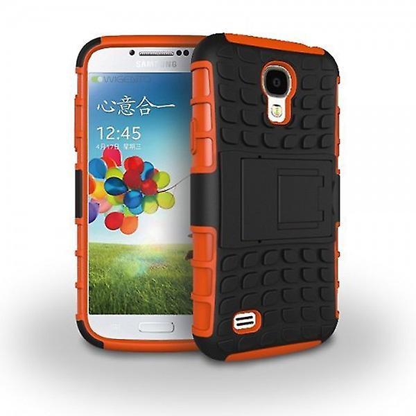 Hybrid case 2 piece SWL robot Orange for Samsung Galaxy S4 i9500 i9505 LTE