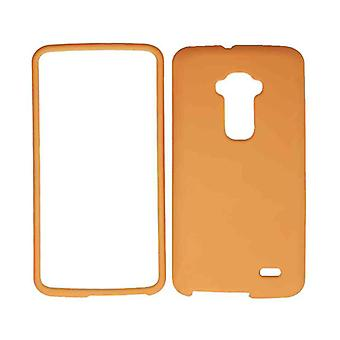 Unlimited Cellular Snap-On Case for LG G Flex - Fluorescent Solid Orange