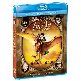 Extraordinary Adventures of Adele Blanc-Sec [BLU-RAY] USA import