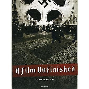 En Film ufærdige [DVD] USA importerer