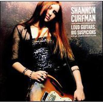 Shannon Curfman - højt guitarer stor mistanke [CD] USA import