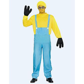 Yellow man costume yellow dwarf one eye men's one size
